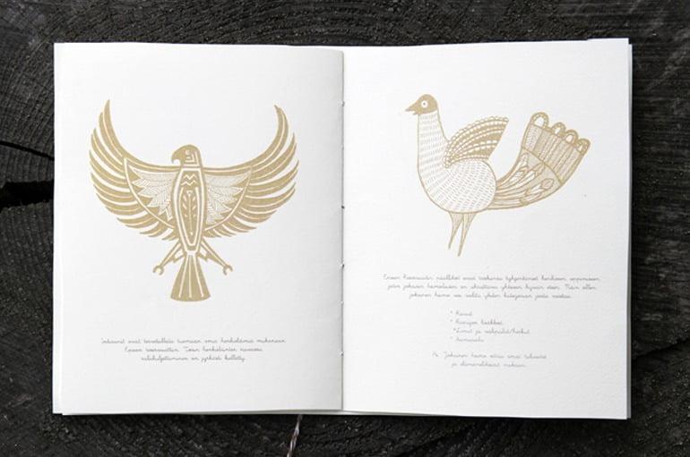 Illustrated invitations
